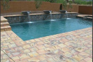 Photo #6: Block fence, BBQ, Stucco, Pavers, Fire pit, Chimneys