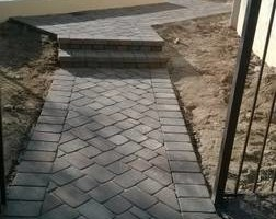 Photo #4: Block fence, BBQ, Stucco, Pavers, Fire pit, Chimneys