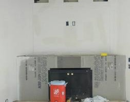 Photo #11: DRYWALL. The patch man!