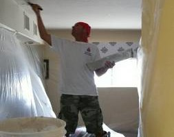 Photo #7: DRYWALL. The patch man!