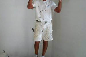 Photo #4: DRYWALL. The patch man!