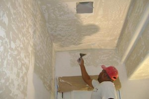 Photo #2: DRYWALL. The patch man!