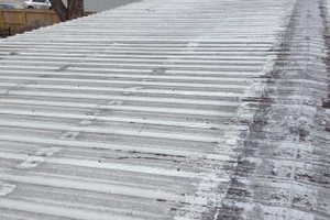 Photo #18: Roof leak repairs, and waterproofing on all metal and flat roof