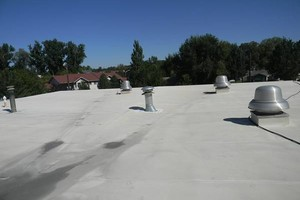 Photo #7: Roof leak repairs, and waterproofing on all metal and flat roof