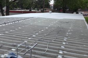Photo #5: Roof leak repairs, and waterproofing on all metal and flat roof