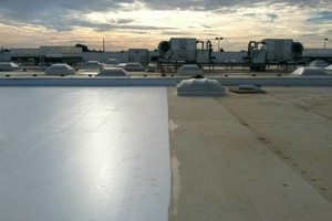 Photo #1: Roof leak repairs, and waterproofing on all metal and flat roof
