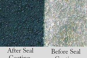 Photo #3: Driveway & Parking Lot Asphalt Sealcoating