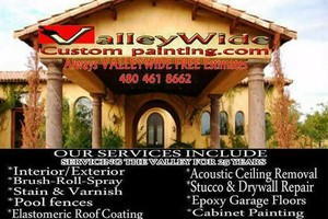 Photo #1: Valleywide painting professionals. ALWAYS FREE ESTIMATES!