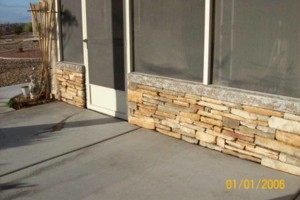 Photo #14: Block wall and Stucco repair, paint to match...