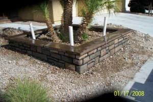 Photo #9: Block wall and Stucco repair, paint to match...
