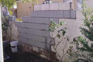 Photo #4: Block wall and Stucco repair, paint to match...