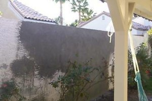 Photo #2: Block wall and Stucco repair, paint to match...