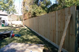Photo #1: AFFORDABLE & WOODEN FENCE