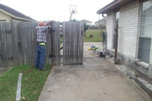 Photo #3: Wood Fence-Install/Replace. No Deposit