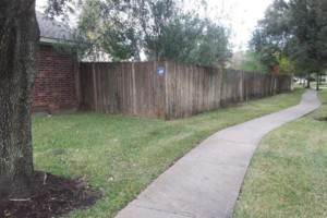 Photo #2: Wood Fence-Install/Replace. No Deposit
