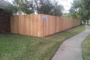 Photo #1: Wood Fence-Install/Replace. No Deposit