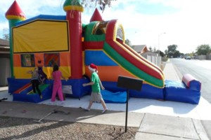 Photo #13: Bounce House for rent, Chairs, Tables, Jukeboxes, Rockolas touch...