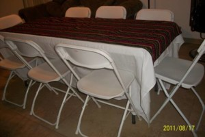 Photo #9: Bounce House for rent, Chairs, Tables, Jukeboxes, Rockolas touch...