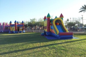 Photo #5: Bounce House for rent, Chairs, Tables, Jukeboxes, Rockolas touch...