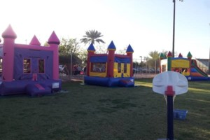 Photo #4: Bounce House for rent, Chairs, Tables, Jukeboxes, Rockolas touch...