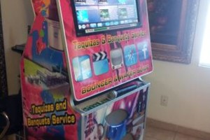 Photo #1: Bounce House for rent, Chairs, Tables, Jukeboxes, Rockolas touch...