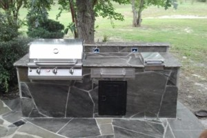 Photo #6: Stone mason ( EMZ MASONS) outdoor kitchen, patio, fireplace and other