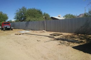 Photo #3: Privacy fences and horse corrals