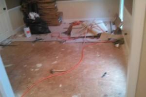 Photo #6: LAMINATE BAMBOO (engineered flooring installation)