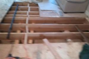 Photo #1: LAMINATE BAMBOO (engineered flooring installation)