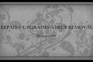 Photo #1: Computer repair, clean virus, upgrade services