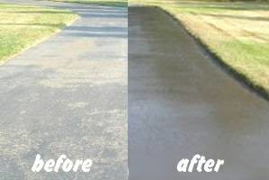 Photo #3: Satisfaction Guaranteed!!! Robert & Son Driveway Repair, Seal coating, Striping...