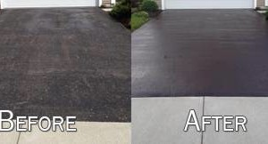 Photo #1: Satisfaction Guaranteed!!! Robert & Son Driveway Repair, Seal coating, Striping...