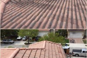 Photo #9: Miami's Pressure Washing Services - roof cleaning as low as $145