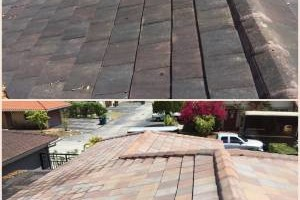 Photo #5: Miami's Pressure Washing Services - roof cleaning as low as $145