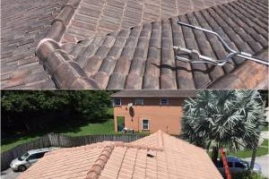 Photo #3: Miami's Pressure Washing Services - roof cleaning as low as $145
