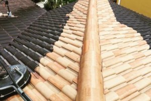 Photo #1: Miami's Pressure Washing Services - roof cleaning as low as $145