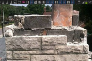 Photo #14: Chimney repair. Tuck Pointing. Сall Mike Smith!