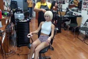 Photo #3: Hair color, higlights & blow dry $99