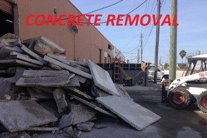 Photo #2: Debris & Concrete Removal