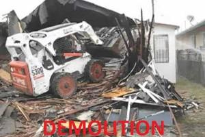Photo #3: Debris & Concrete Removal