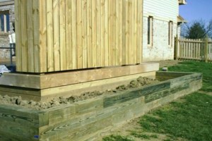 Photo #14: Landscaping, Mulch, Retaining Walls, Sod, Fence Staining