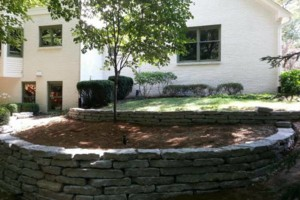 Photo #13: Landscaping, Mulch, Retaining Walls, Sod, Fence Staining