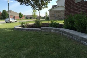 Photo #4: Landscaping, Mulch, Retaining Walls, Sod, Fence Staining