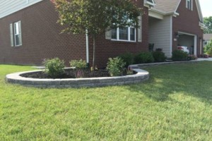 Photo #3: Landscaping, Mulch, Retaining Walls, Sod, Fence Staining
