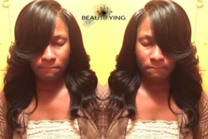Photo #13: $90 Sew-In. $50 bond-In. $40 makeup special