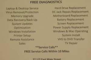 Photo #1: NOW OPEN! Computer Solutions Computer Repair/Virus Removal
