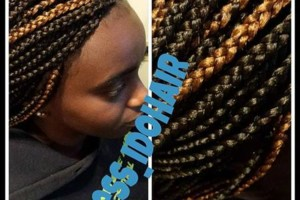 Photo #2: Neat box braids