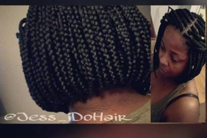 Photo #1: Neat box braids
