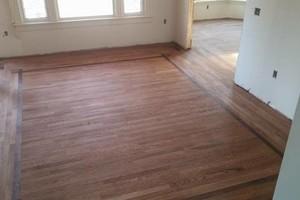Photo #1: Hardwood floor installation