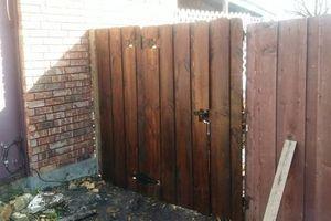 Photo #2: Individual fence work - call Joe!